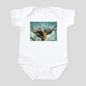 "Infant Bodysuit ""Red Pandas"""