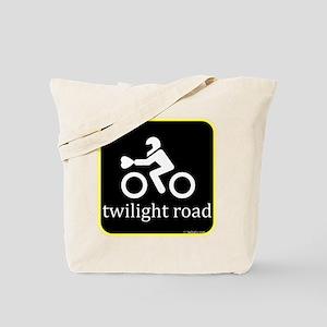 Twilight Road Tote Bag