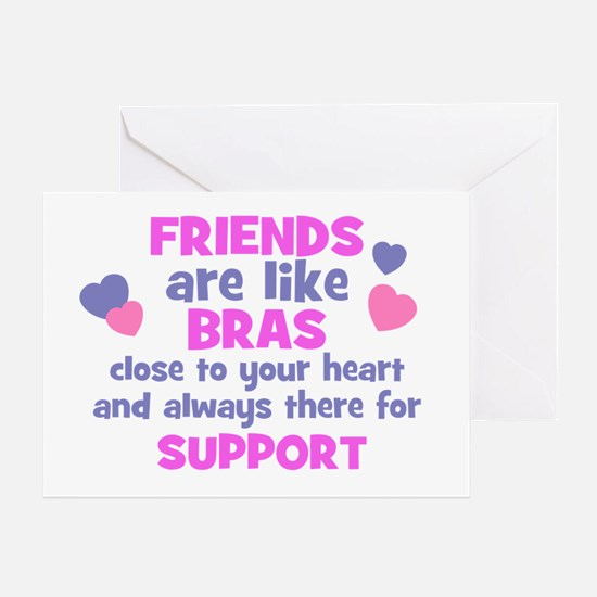 FRIENDS-BRA Greeting Card