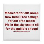 Gullible Sheep Call Tile Coaster