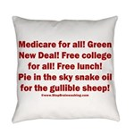 Gullible Sheep Call Everyday Pillow