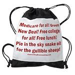 Gullible Sheep Call Drawstring Bag