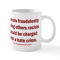 Racism Hate Crime Mug