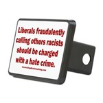 Racism Hate Crime Rectangular Hitch Cover