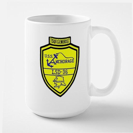 USS Anchorage (LSD 36) Large Mug