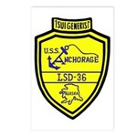 USS Anchorage (LSD 36) Postcards (Package of 8)