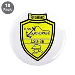 "USS Anchorage (LSD 36) 3.5"" Button (10 pack)"