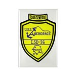 USS Anchorage (LSD 36) Rectangle Magnet (100 pack)