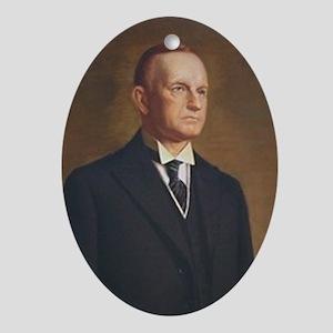 Calvin Coolidge Christmas Ornament