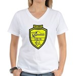 USS Anchorage (LSD 36) Women's V-Neck T-Shirt