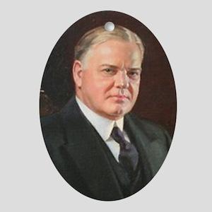 Herbert Hoover Christmas Ornament