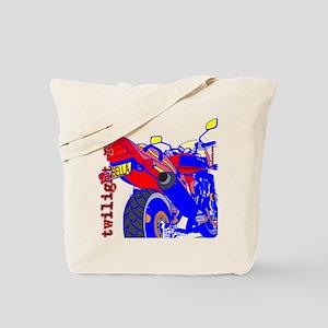 Twilight Road Bella Blue Tote Bag