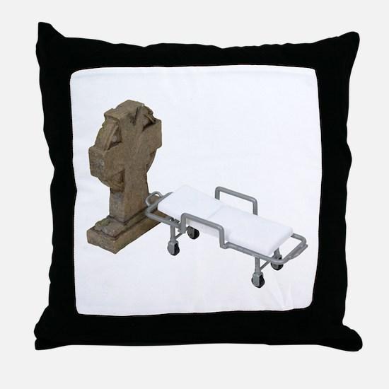 Cute End error Throw Pillow