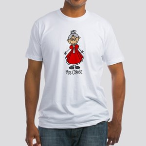 Mrs. Santa Claus Fitted T-Shirt