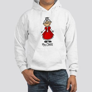 Mrs. Santa Claus Hooded Sweatshirt