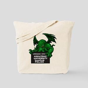 Cthulhu Mugshot Tote Bag
