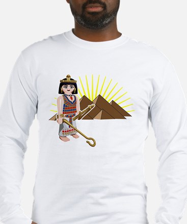 egpytian pyramids sun toy des Long Sleeve T-Shirt