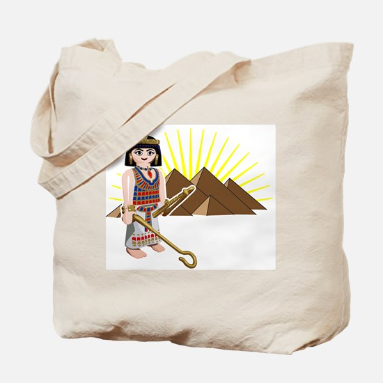 egpytian pyramids sun toy des Tote Bag
