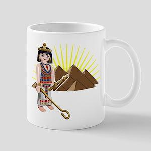 egpytian pyramids sun toy des Mug