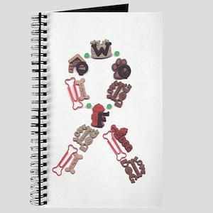Woof Ribbon Journal