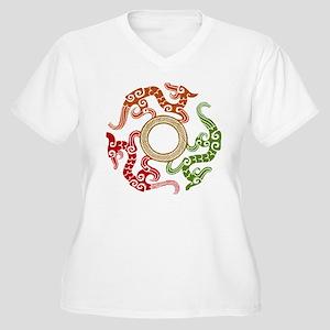 ancient chinese dragon design 3 Women's Plus Size