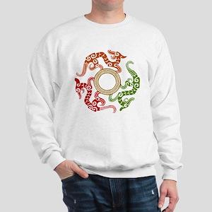 ancient chinese dragon design 3 Sweatshirt