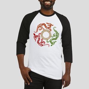 ancient chinese dragon design 3 Baseball Jersey