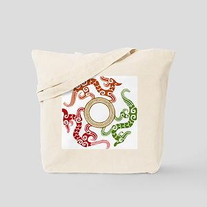 ancient chinese dragon design 3 Tote Bag