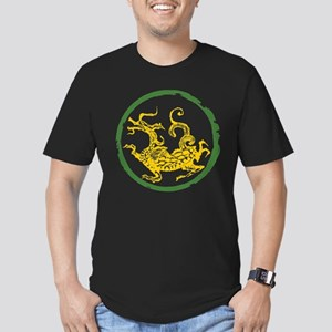 ancient chinese dragon design Men's Fitted T-Shirt