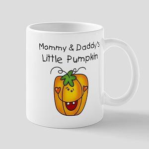 Mommy and Daddy's Pumpkin Mug