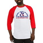 Defend the Constitution Baseball Jersey