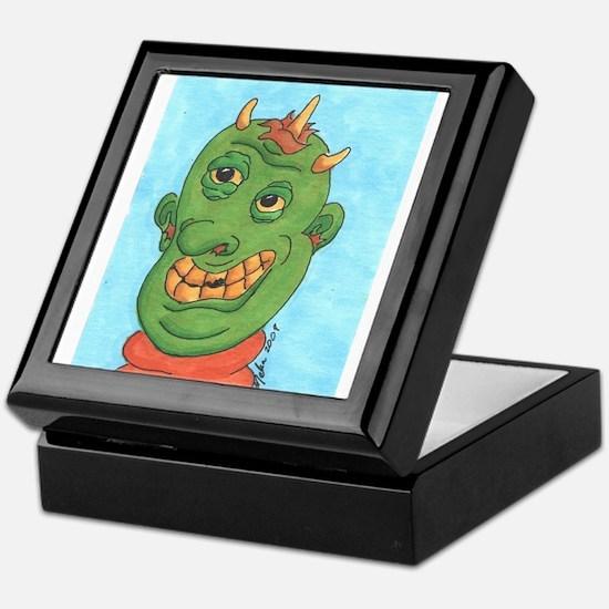 Ghastly Ghoul Keepsake Box