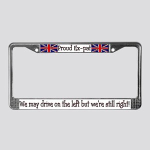 Union Jack Tag Frame