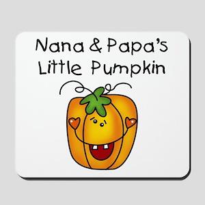 Nana and Papa's Pumpkin Mousepad