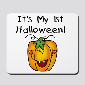 Pumpkin 1st Halloween Mousepad