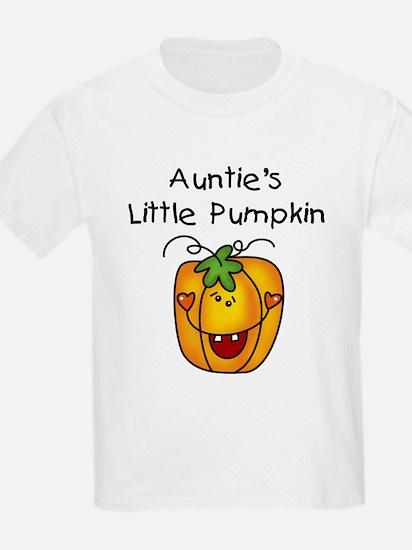 Auntie's Little Pumpkin T-Shirt