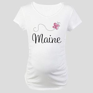Pretty Maine Maternity T-Shirt