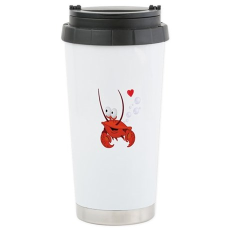 Crab Love Stainless Steel Travel Mug