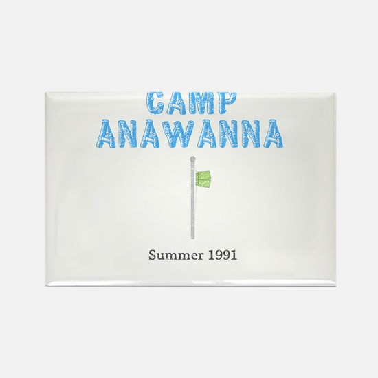 Cute Summer camp Rectangle Magnet (100 pack)