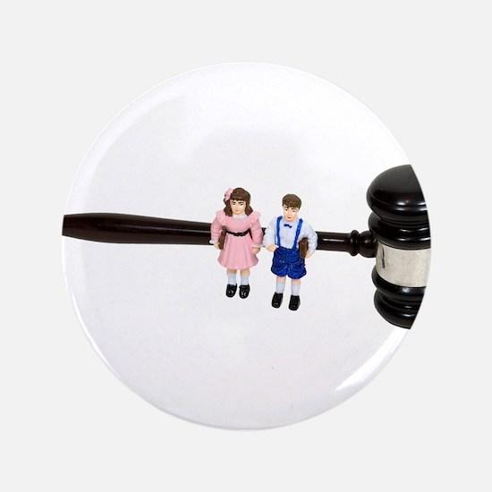 """Foster children 3.5"""" Button"""