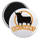 """Bull shirt 2.25"""" Magnet (10 pack)"""