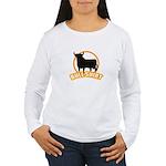 Bull shirt Women's Long Sleeve T-Shirt