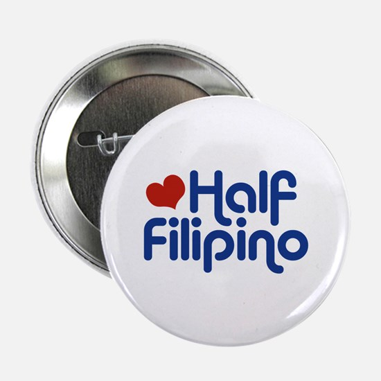 """Half Filipino 2.25"""" Button"""