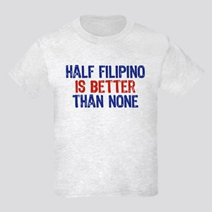 Half Filipino Kids Light T-Shirt
