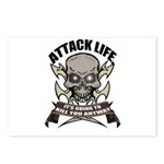 Attack life Postcards (Package of 8)