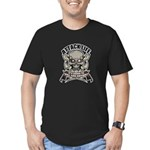Attack life Men's Fitted T-Shirt (dark)
