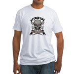 Attack life Fitted T-Shirt