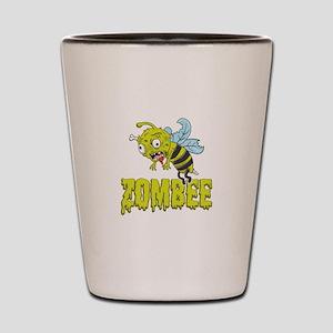 Zombee Funny Beekeeping Birthday Gift I Shot Glass