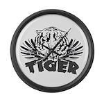 Tiger Large Wall Clock