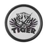 Tiger Large Wall Clock